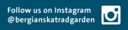 Follow us on Instagram, @bergianskatradgarden